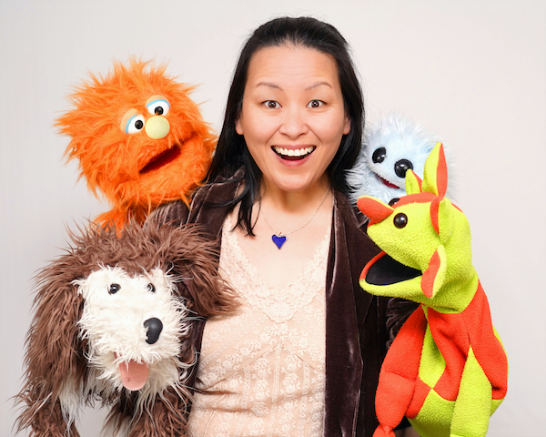 Through Me to You puppetry cast
